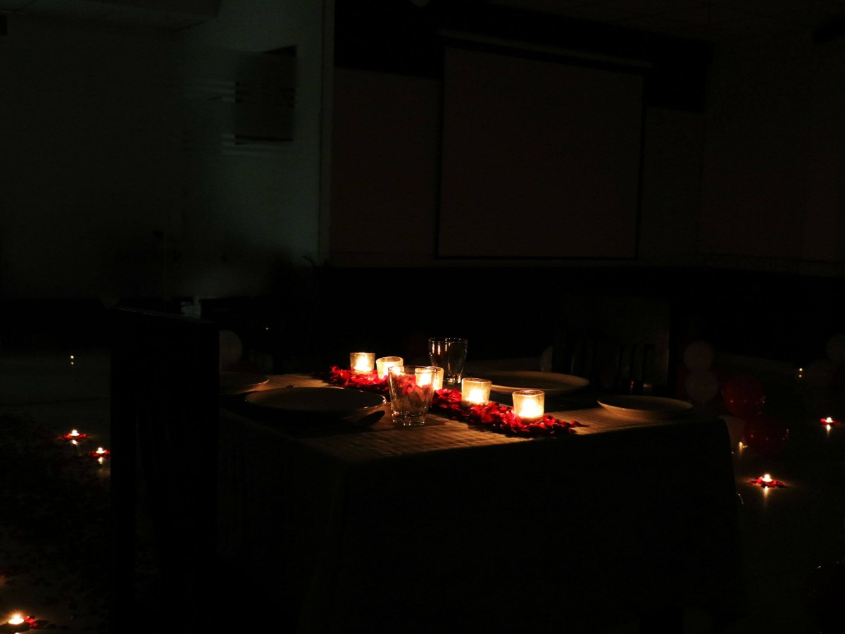 Candlelight Dinner followed by a Movie Experience in Gurgaon