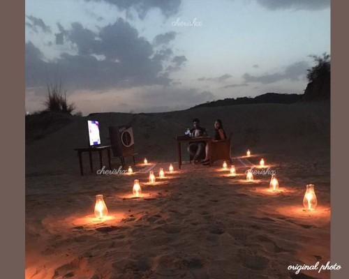 Dinner on the Dunes