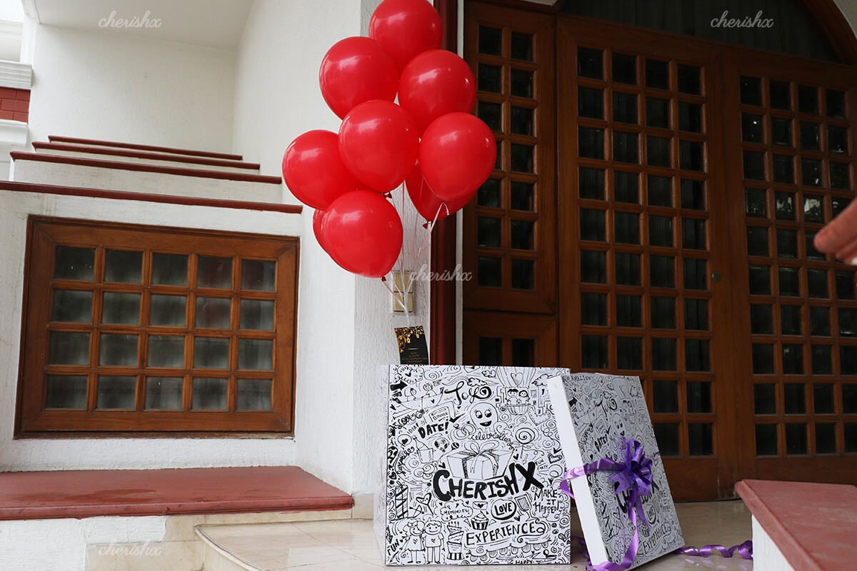 Helium Balloon Box Delivery in Gurgaon