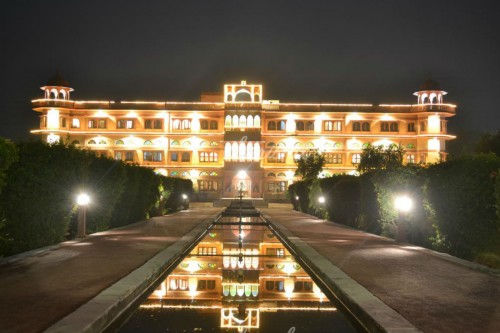 Umaid Lake Palace