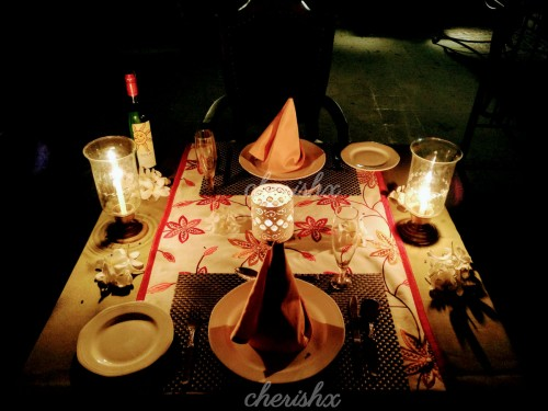 Romantic Candle Light Dinner included in the Package