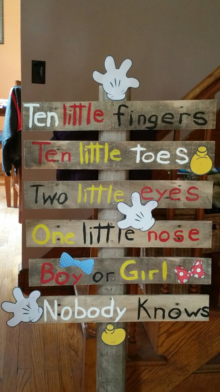 Baby Signboard