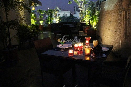 Rooftop Candlelight Dining