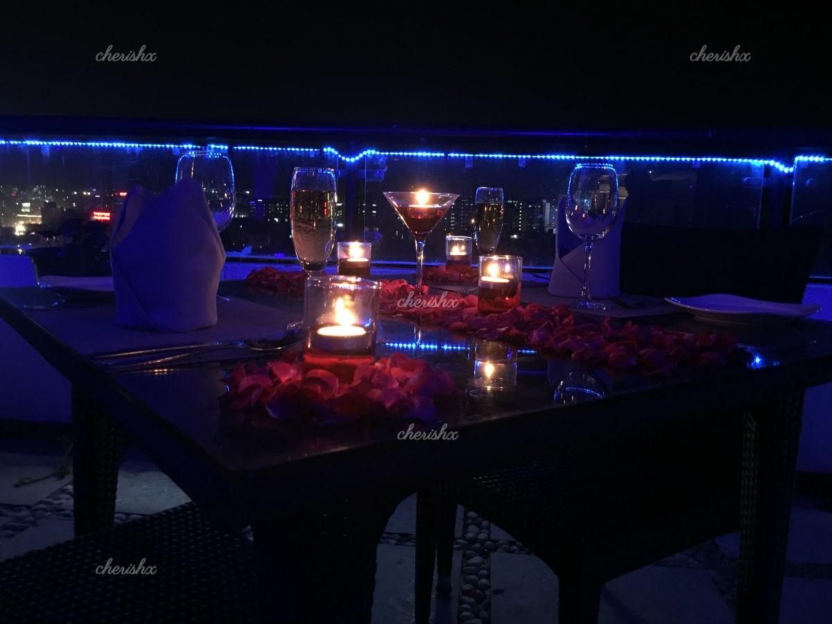 Romantic Rooftop Dinner