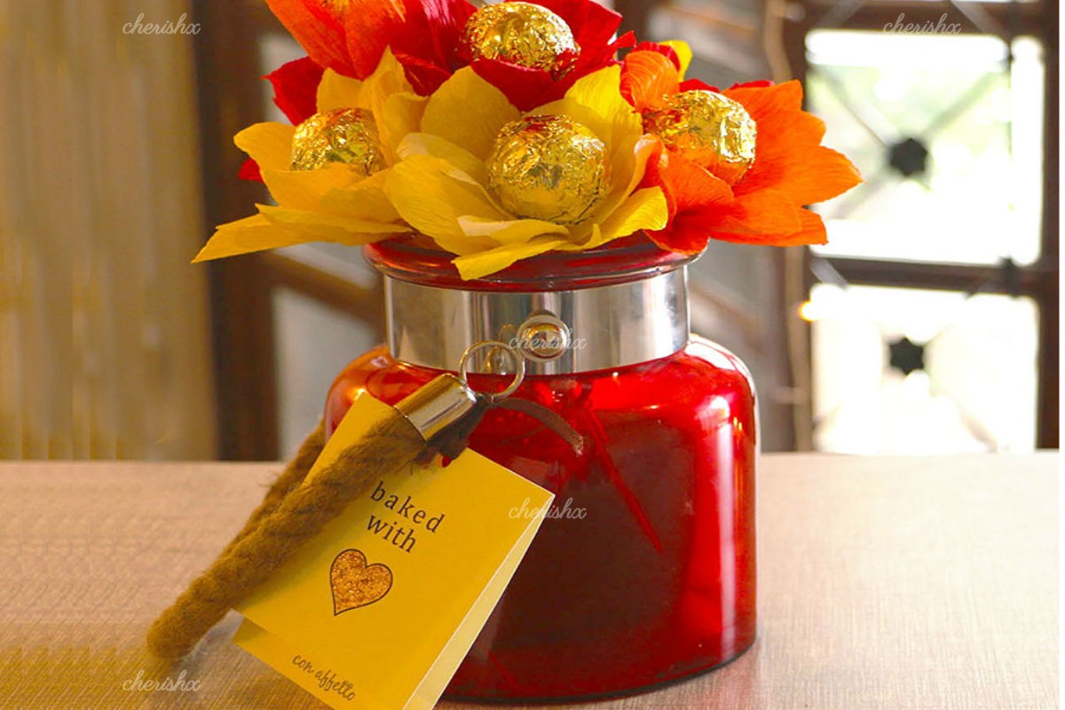 Glowing Chocolate Lantern