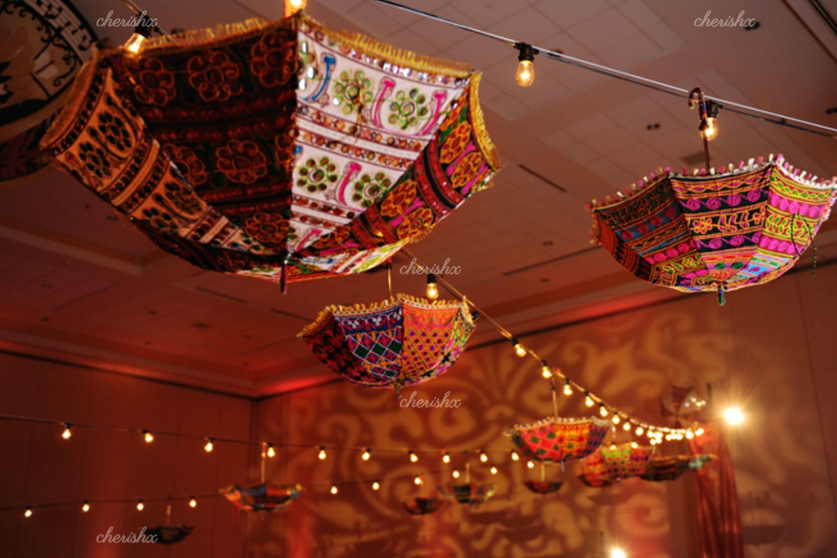 Specially Rajasthani Umbrella Decoration in Delhi, Gurgaon, Noida, NCR