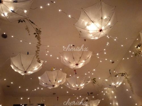 Regal Umbrella Decoration for your house party in Delhi, Noida, Gurgaon, NCR