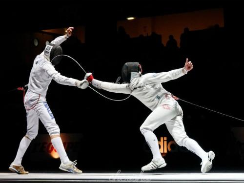 Talwarbazi (Fencing)
