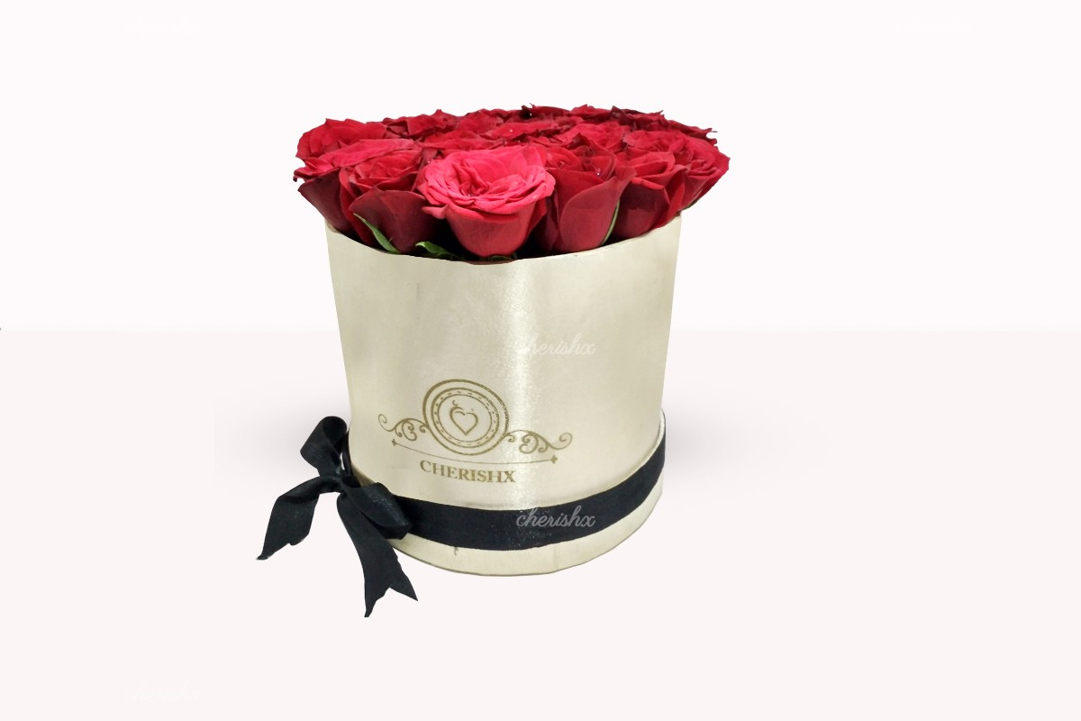 Rose bucket beautiful bucket of fresh roses delivered anywhere in image izmirmasajfo