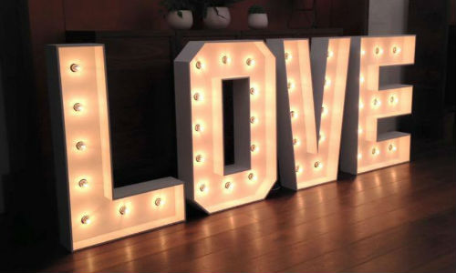 Add Marquee Letter