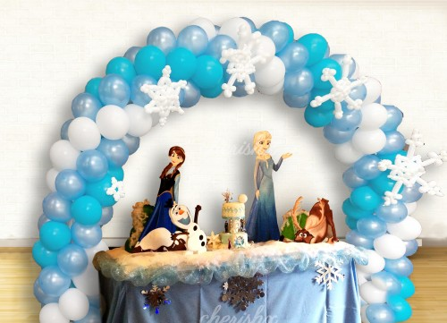 Elsa Frozen Theme Birthday Decor