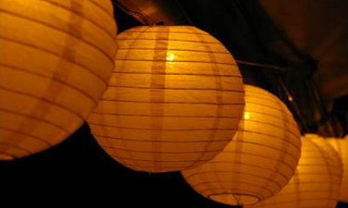 Add paper lantern