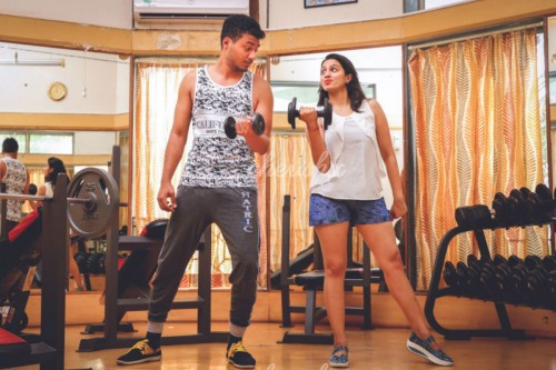 Couple Fitness Session