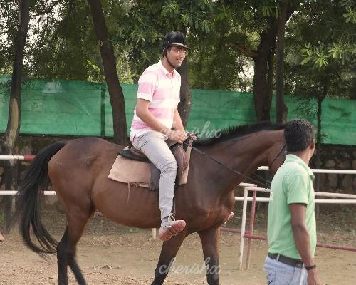 Adagio horse riding