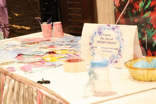 Personalised Games for Baby shower