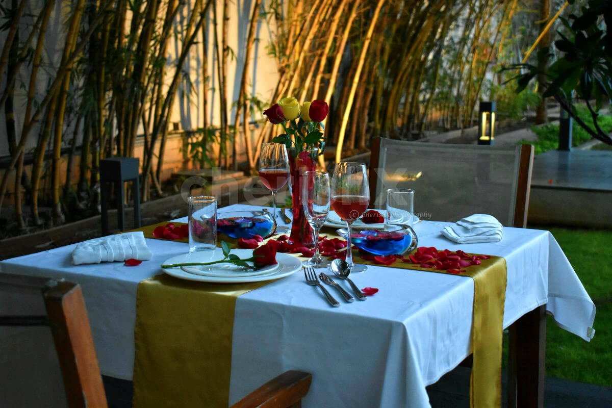Quaint Garden Dining