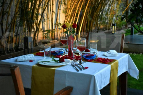Quaint Garden Dining