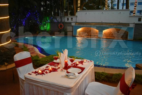Poolside Dinner at Koramangala by CherishX