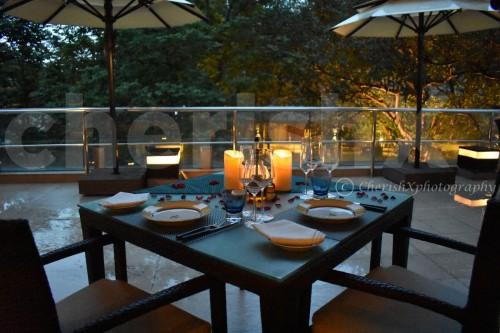 Azure Balcony Dining
