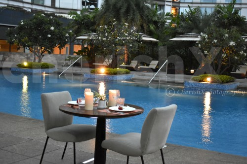 Private Poolside Dinner