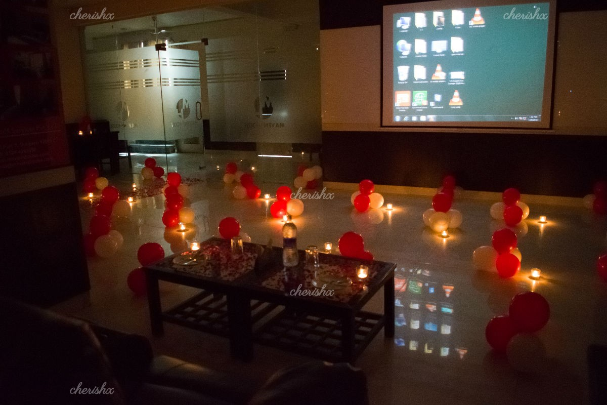 Private Dinner & Movie Experience in Gurgaon