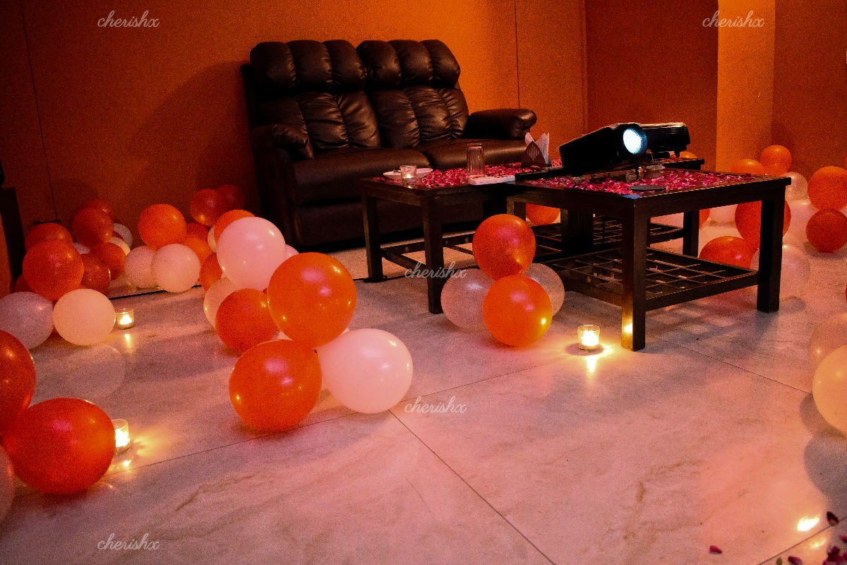 Private Dinner & Projector Setup at Maven's House, Gurgaon