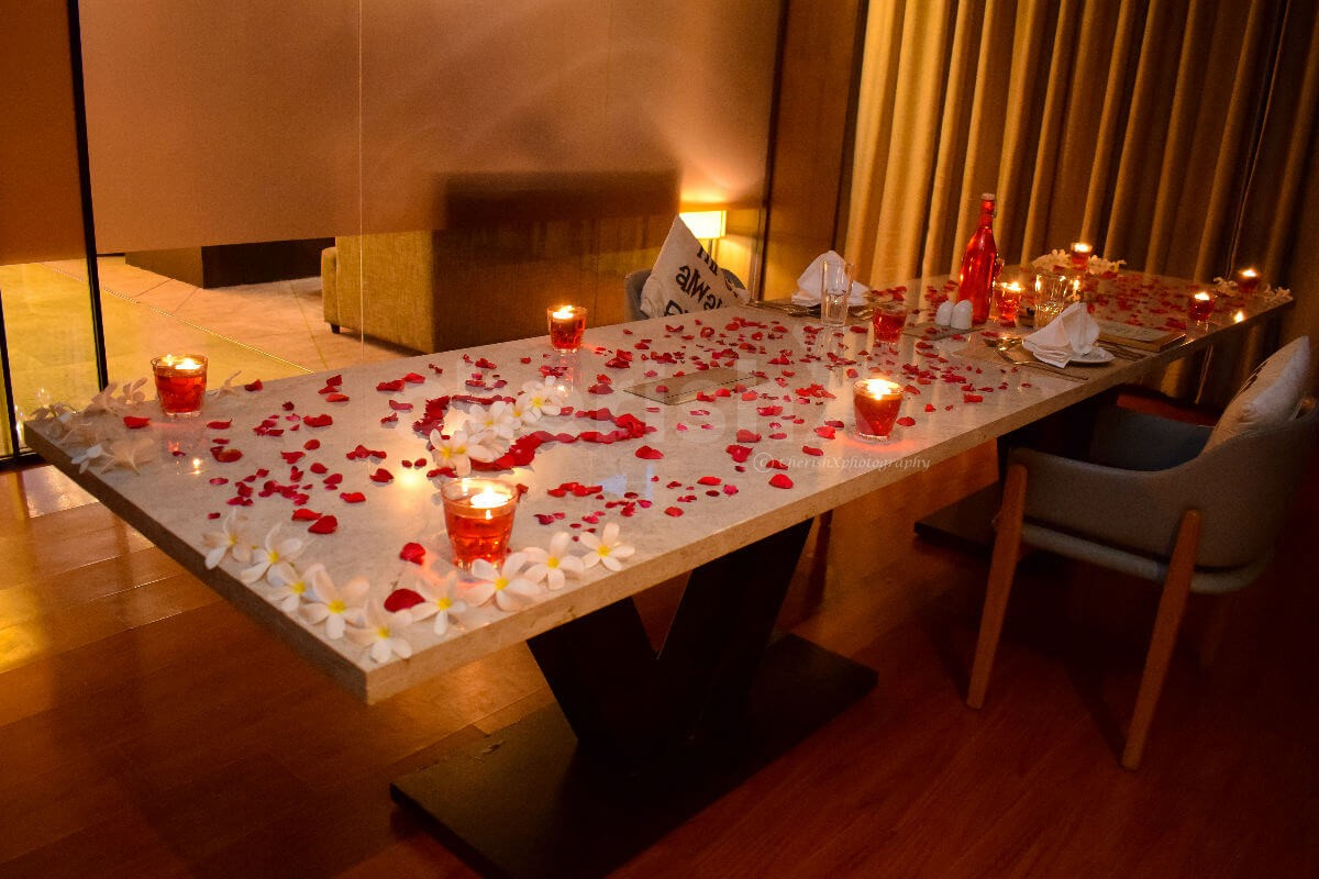 Book a Romantic Dinner experience at The Courtyard by Marriott, Gurgaon