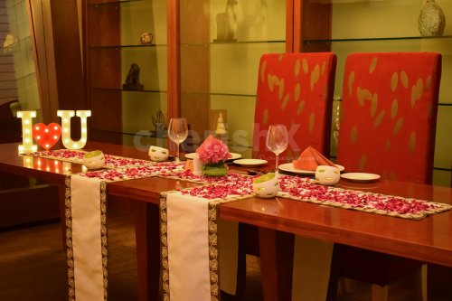 Private dining by Taj