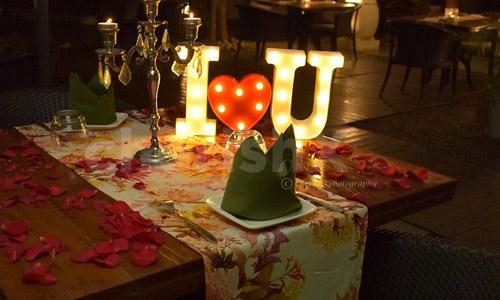 Rent LED Letter Decoration