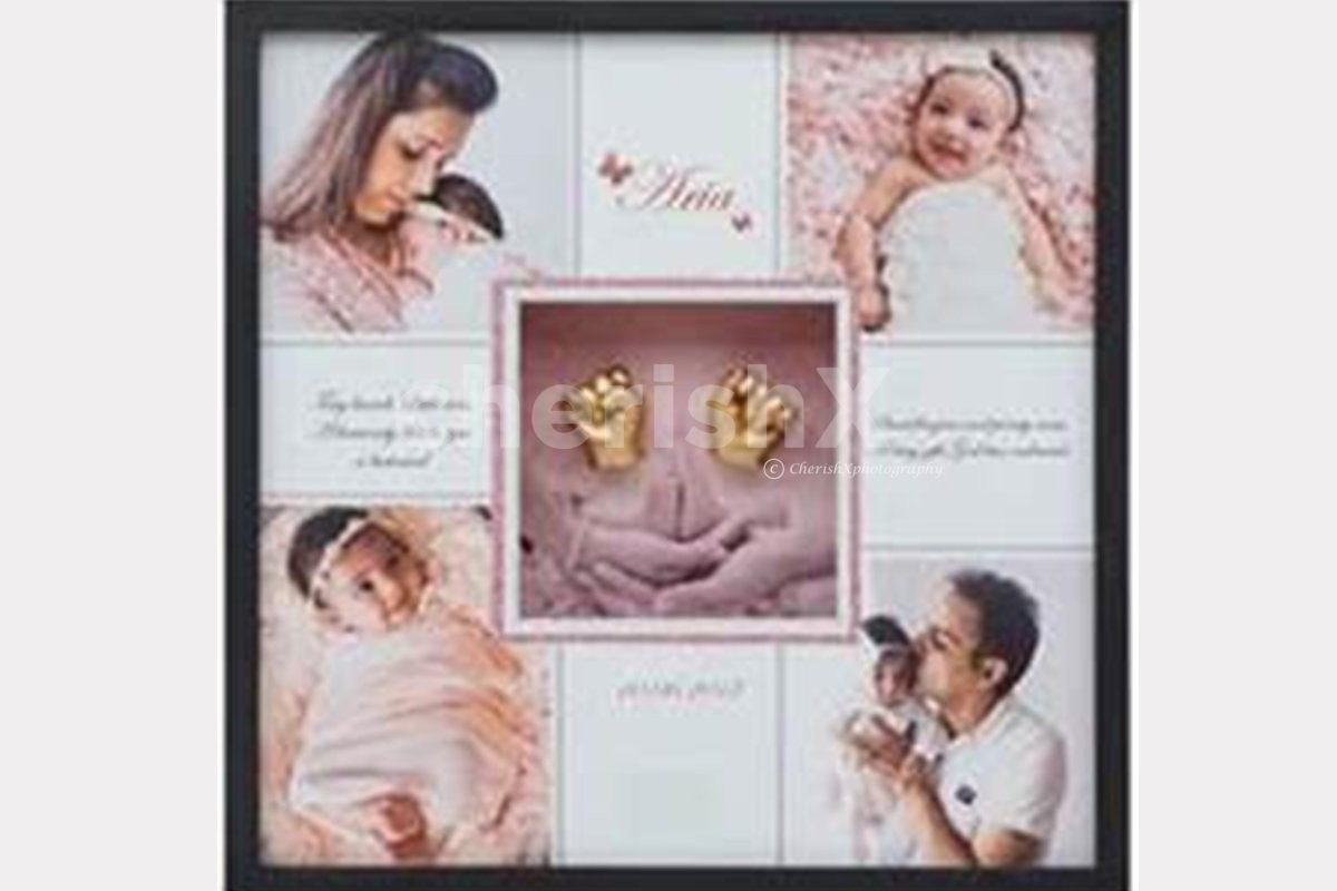 Replace doll case with 3D photo frame