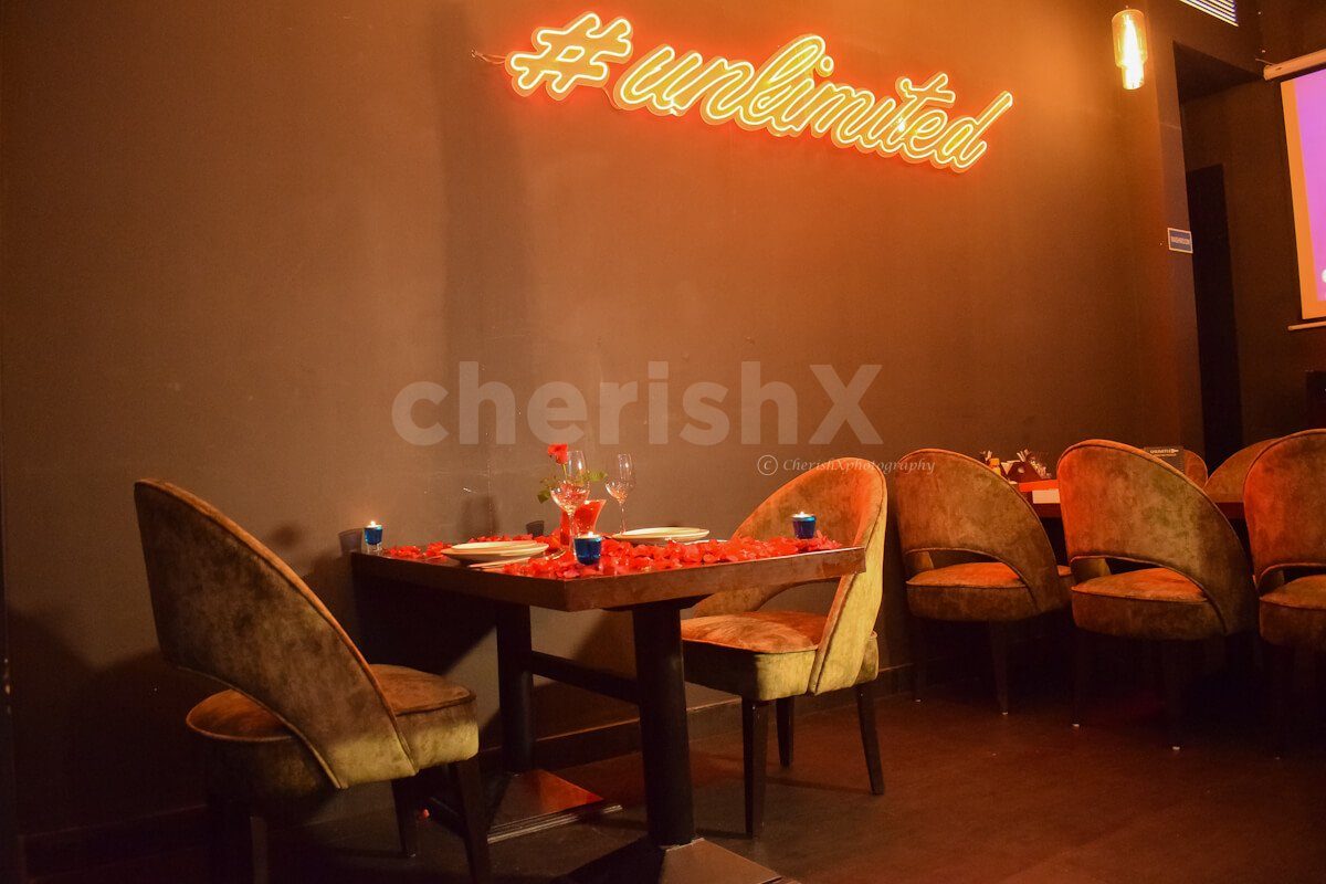 CherishX offers you Romantic Lunch at CP in Piali with this beautiful ambience.