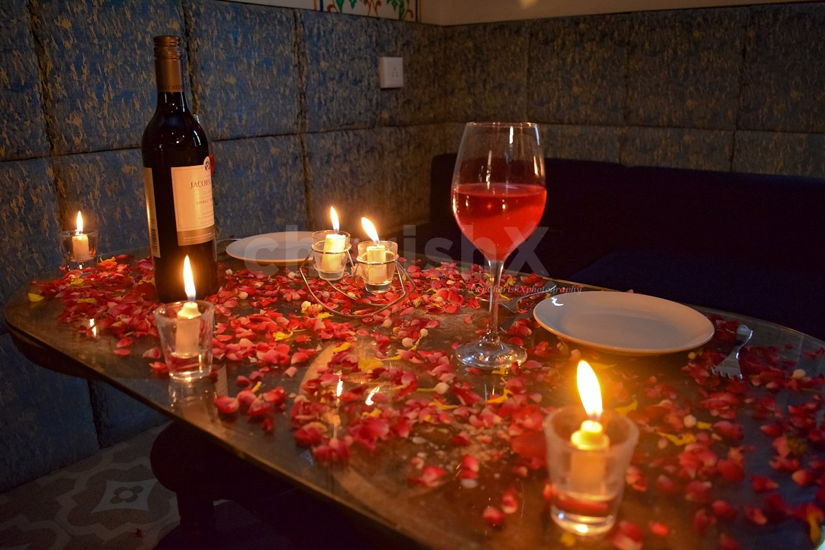 Magical Candle-lit Moments