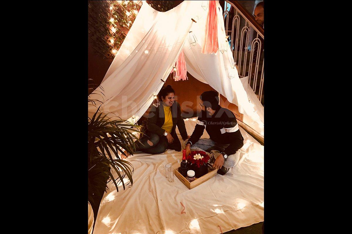 Fort Night - Cabana Setup at Home