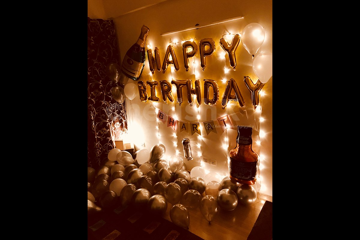 Perfect Birthday Decoration for Bedroom or Room
