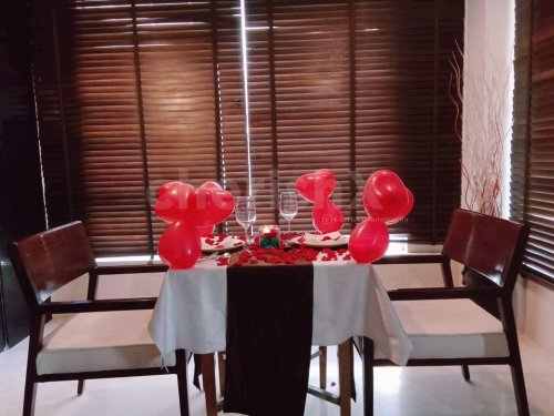 Indoor Romantic Dining
