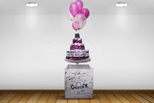 Birthday Balloon Bouquet for Her