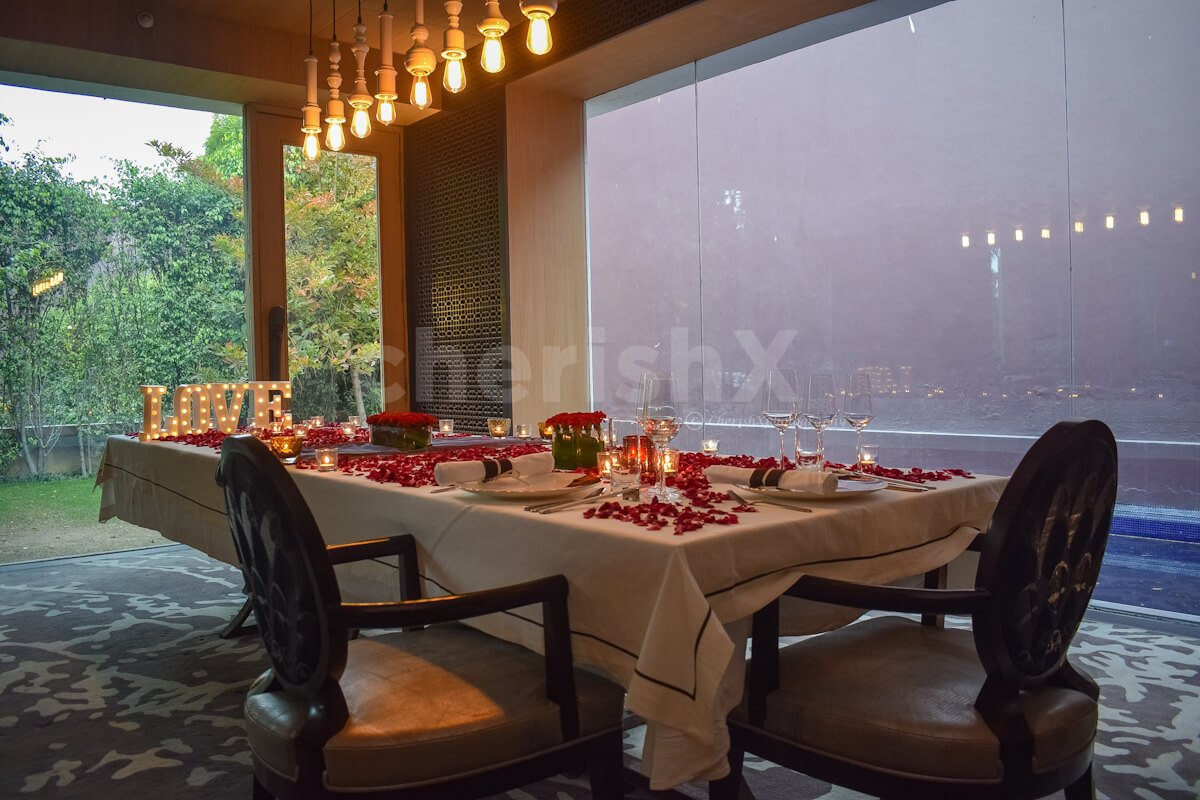 Private Dining at Chi Ni- The Roseate