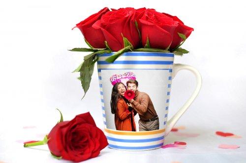 Rosy Mug of Love