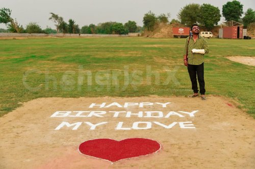 Message on ground if planning to propose