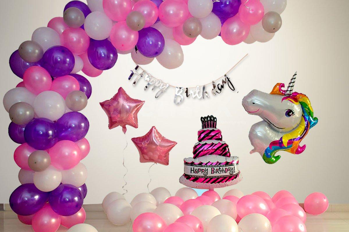 Unicorn Theme Birthday Decoration Service