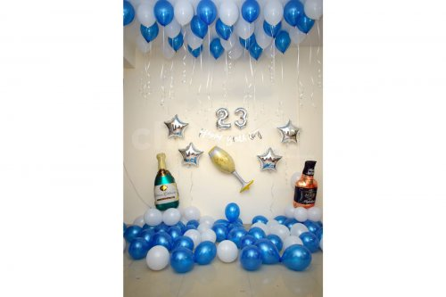 A simplistic and elegant decor to surprise your loved ones.