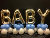Grand BABY letters Balloon Centerpiece