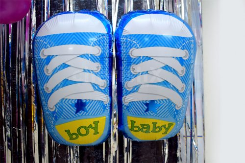 Baby Shoes Foil Balloons