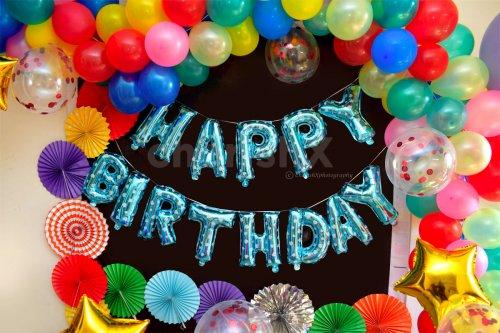 Multicoloured Birthday Decoration