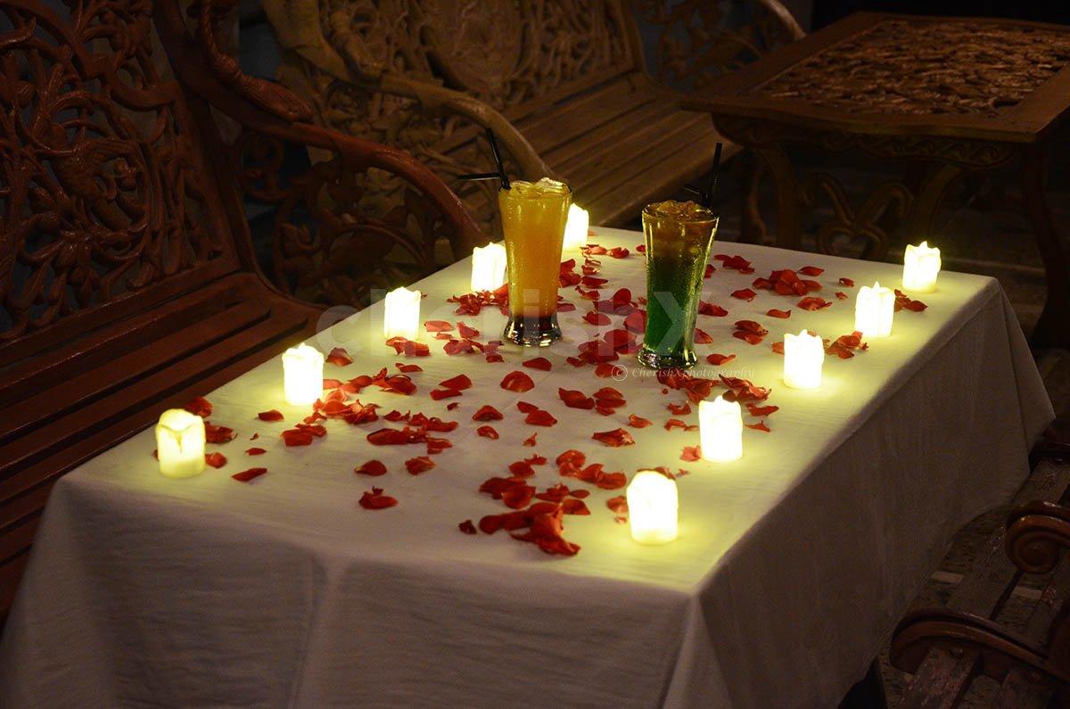 Romantic Terrace Dinner