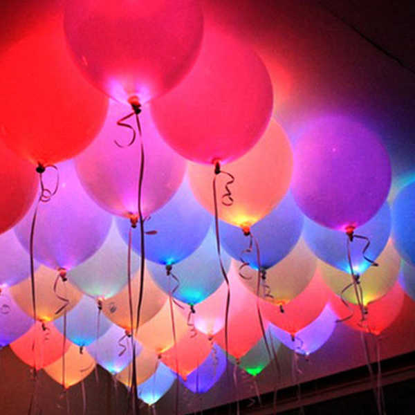 Add 5 led balloons