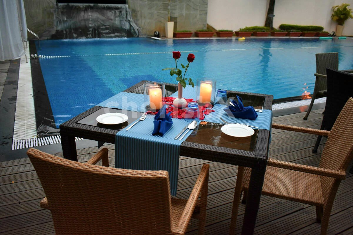 Poolside Dinner With Stay In Deluxe Room