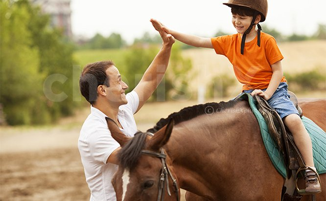 Vasant Horse Riding
