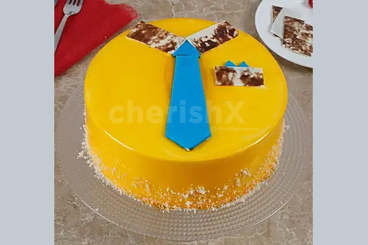 Fathers Day Tie Cake