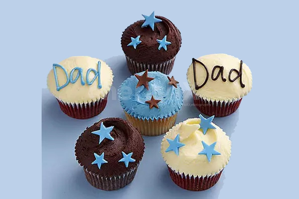 Fathers Day Cup Cake